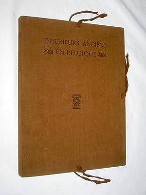 Intérieurs Anciens en Belgique. Avec 100 Planches en Héliotypie.: Sluyterman, K. avec...