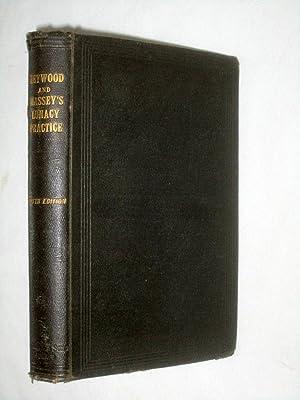 Heywood and Massey's Lunacy Practice.: Heywood, N. Arthur, Ralph C. Romer, Massey.