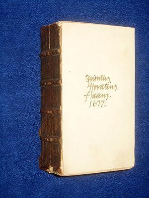 Poemata: Cum Commentariis Joh. Min-Ellio Notis Illustratus.: Flaccus, Quintus Horatius. ( Horace.)