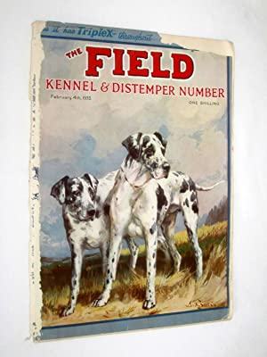 The Field, The Country Newspaper, 4 February 1933, Magazine. Kennel & Distemper Number. Cyprus....