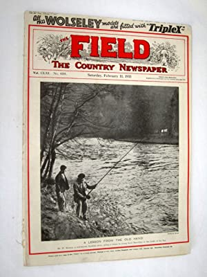 The Field, The Country Newspaper, 11 February 1933, Magazine. Blue Bird World Speed Record, Burma ...