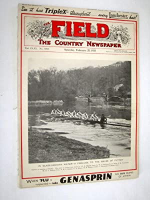 The Field, The Country Newspaper, 25 February 1933, Magazine. Everest Flight, Wanted a Road Race ...