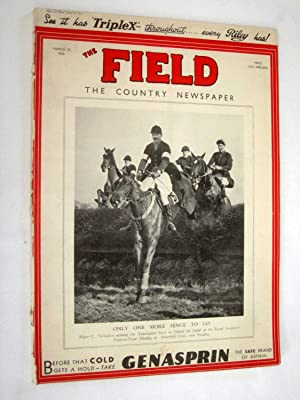 The Field, The Country Newspaper, 25 March 1933, Magazine. Conserving Wildlife in Burma, Sandown ...