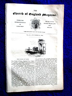 The Church of England Magazine No 555, 22 November 1845. The FORUM at ROME.: Under the ...