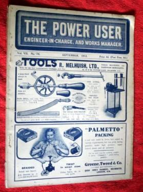 The Power User, Engineer-In-Charge, and Works Manager.: Marshall, Percival
