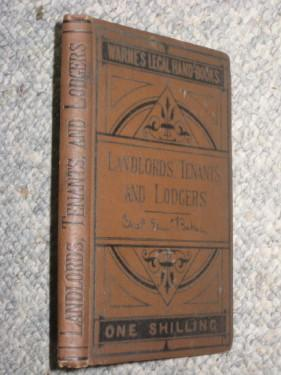 Landlords, Tenants, and Lodgers. 1879. Warne's Legal Hand-Books.: Baker, Charles E.