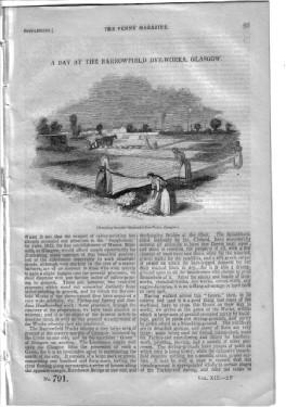 PM 791, A DAY at The BARROWFIELD DYE-WORKS GLASGOW, 1844, Penny Magazine Supplement.: Knight, ...