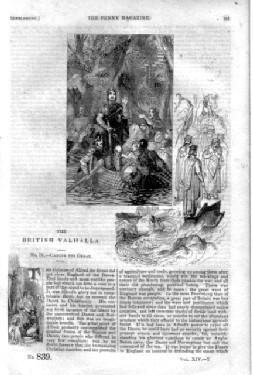 PM 839. The PENNY MAGAZINE of the Society for the Diffusion of Useful Knowledge. 1845. ( King ...