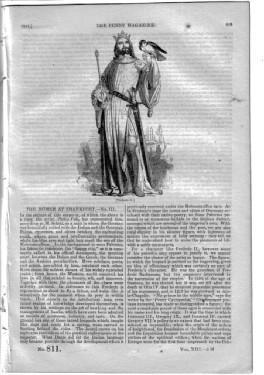PM 811. The PENNY MAGAZINE of the Society for the Diffusion of Useful Knowledge. 1844. ( The WAITS ...