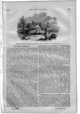 PM 799. The PENNY MAGAZINE 1844 (DRIED FRUITS of The LEVANT (Lebanon - Middle East area), + ...