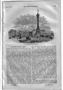 PM 781. The PENNY MAGAZINE 1844 ( The LEA (pt 2 of Rambles from Railways) inc HATFIELD PARK, ...