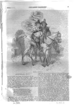PM 756. The PENNY MAGAZINE 1844 (BOULOGNE ROMAN LIGHTHOUSE, + GLACIERS in The ALPS).: Knight, ...
