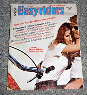 EASYRIDERS, for the Swinging Biker! June 1972, Vol 2 No.3. (half price Postage on this item).