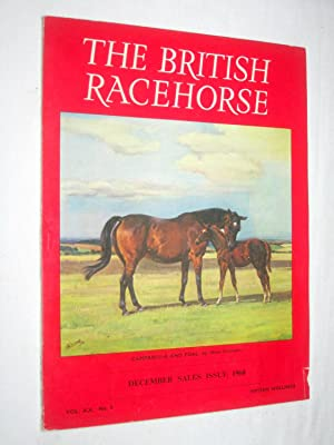 The British Racehorse. Vol XX No 5 December Sales Issue 1968.: Hislop, John. (editor).