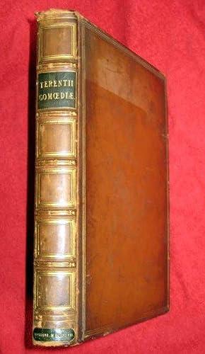 P. Terentii Afri Comoediae. ( Publii.) contains ANDRIA, EUNUCHUS, HEAUTON TIMORUMENOS, ADELPHI, ...