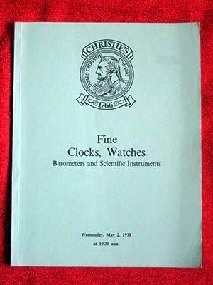 FINE CLOCKS, WATCHES, BAROMETERS, and SCIENTIFIC INSTRUMENTS.: Christie's.