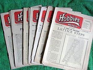 Hobbies Weekly Magazine. 1948, Vol 105, 106, 107. 18 Issues.: Hobbies Weekly.