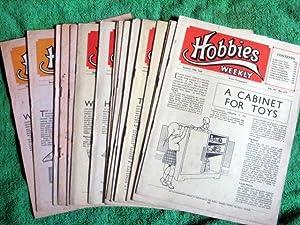 Hobbies Weekly Magazine. 1949, Vols 107, 108, 109. 18 Issues.: Hobbies Weekly.
