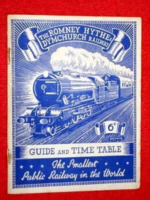 Romney, Hythe & Dymchurch Railway Guide & Timetable, 1946, The Smallest Public Railway in ...