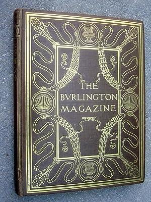 The Burlington Magazine for Connoisseurs. Volume XXX. No. CLXVI - CLXXI January to June 1917.: The ...