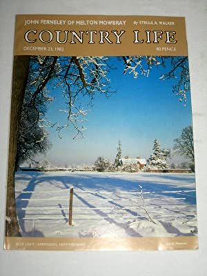 Country Life Magazine. 1982, December 23, Miss Lamorna Forder, Warwick Castle Revisited Pt IV, John...