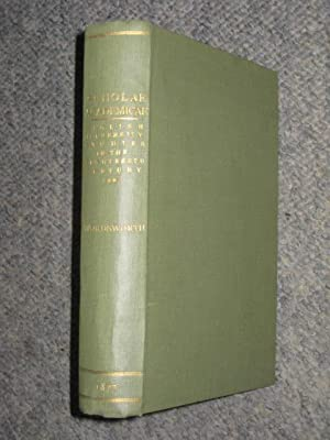 Scholae Academicae. Some Account of the Studies at the English Universites in the Eighteenth ...