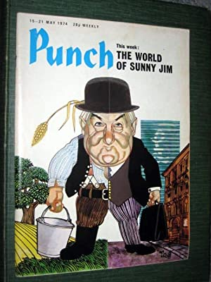 PUNCH Magazine. 15-21 MAY 1974. Cover THE: Punch.