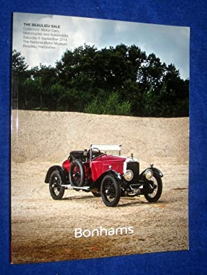 The Beaulieu Sale, Collectors Motor Cars, Motorcycles and Automobilia. Saturday 6 September 2014. ...