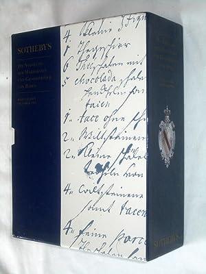 Die Sammlung der Markgrafen und Grossherzöge von Baden, Sotheby's Baden-Baden Complete 7 ...