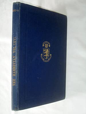 The Harrovian. Vol LXVI, Nos 1-34, 24 Sept 1952 to 29 July 1953, + Index.: Harrow School.