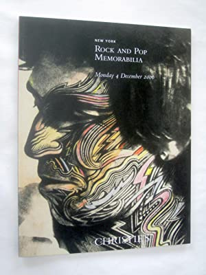 Rock and Pop Memorabilia, 4 December 2006 Christie's New York Auction Catalogue 1730.: ...