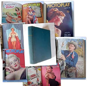 Photoplay, The Film Monthly Magazine. January to December 1952 (Bound with Covers set). Vol 3, Nos ...
