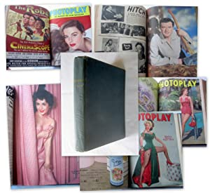 Photoplay, The Intimate Film Monthly Magazine. January to December 1954 (Bound with Covers set). ...