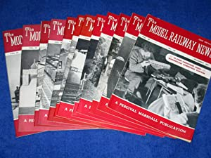 Model Railway News, Vol 29, Jan to Dec 1953. (complete Run of 12 Magazines.