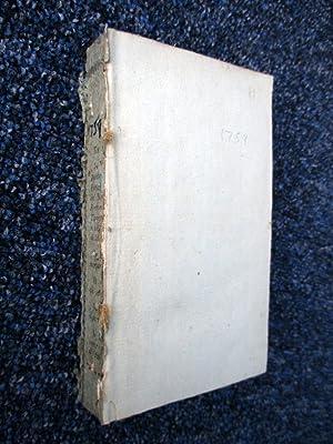 Histoire de l'Académie Royale Des Sciences. Année 1759. MDCCLIX, Tome Second.: L...