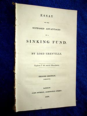Essay on The Supposed Advantages of A Sinking Fund: Grenville, Lord.