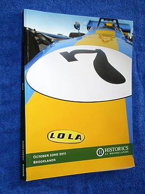 Historics at Brooklands, A007. October 22nd 2011. Car Auction Sale Catalogue of Automobilia, ...