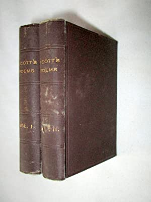 Poems of Sir Walter Scott. In Two: Scott, Sir Walter.