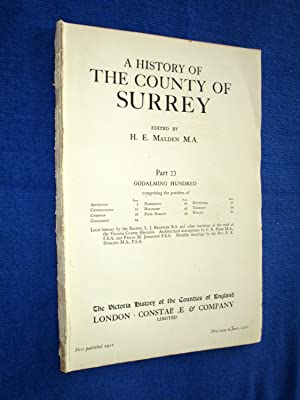 A History of the County of Surrey: H. E. Malden