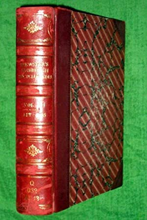 The Edinburgh Encyclopaedia. Volume III. Brewster's covering Astrophanometer to Boswell.: ...