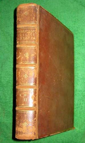The History of America. Volume II of 2. 1778 Second Edition.: Robertson, William.