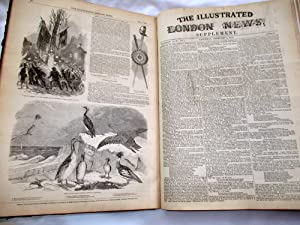 The ILLUSTRATED LONDON NEWS. 1850. Volume 14. January to June Bound Set.: Illustrated London News