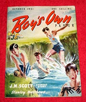 Boy's Own Paper. Vol 74, No.1. October 1951. Magazine includes Everest - Will it Ever be ...