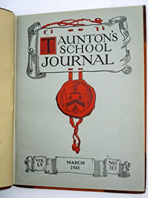 Taunton's School Journal, Southampton, 1948. Nos 313 to 315, + Prize Distribution, & ...