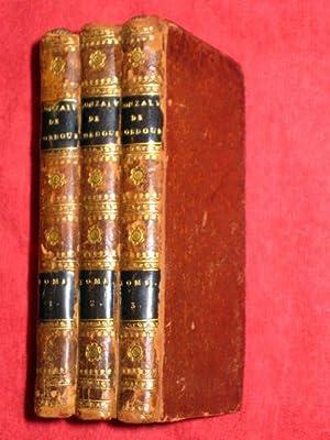 Oeuvres De Florian, Gonzalve de Cordoue ou Grenade Reconquise. 3 Volume Set.: Florian
