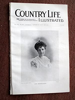 Country Life. No. 175. 12th May 1900. Lady Magheramorne, Clifton Hall Nottingham, Polo at Ranelagh,...
