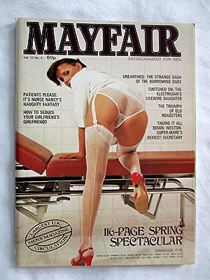 Mayfair Vol 13 No 4. Entertainment for: Mayfair.