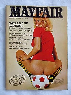 Mayfair Vol 13 No 6. Entertainment for: Mayfair.