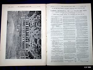 The Illustrated London News, 22 July 1882. War in Egypt, Alexandria, HMS Monarch, Casino Municipal ...