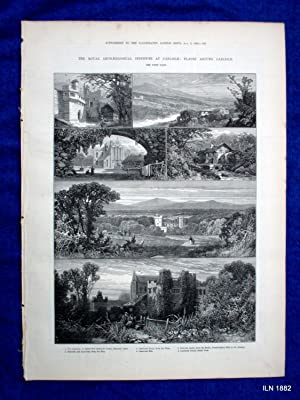 The Illustrated London News Supplement to 5 August 1882. The Royal Archaeological Institute at ...